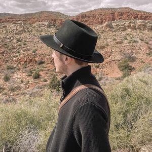 Dobbs Wool Felt Fedora - Echelon in Black